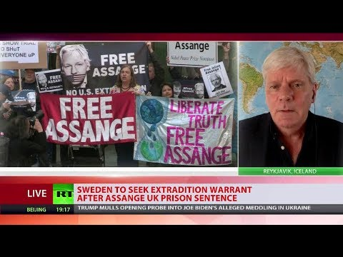 Wikileaks editor talks to RT about Sweden reopening Julian Assange rape inquiry