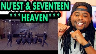 NU'EST & SEVENTEEN | HEAVEN | REACTION!!! | DANCE PERFORMANCE mp3
