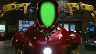 Green Screen Iron Man Mark III Suit Up