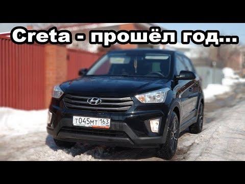 Hyundai Creta год спустя отзыв реального владельца