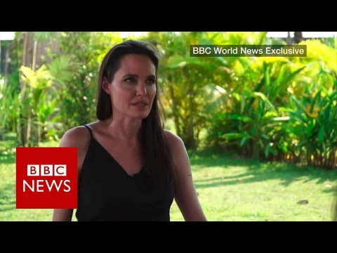 Angelina Jolie on divorce, film and Cambodia BBC