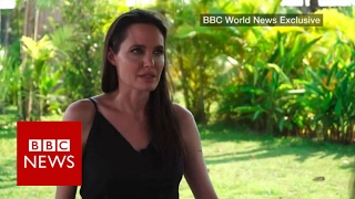 angelina jolie on divorce film and cambodia bbc news