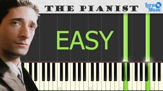 How to Play The Pianist Soundtrack - Piano Tutorial (EASY)