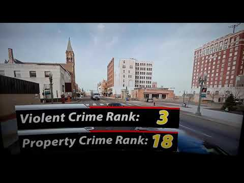 Canton: 3rd Most Dangerous City in Ohio