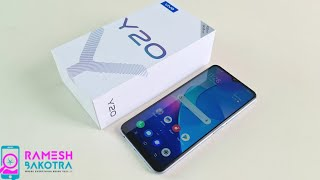 Vivo Y20 Unboxing and Full Review