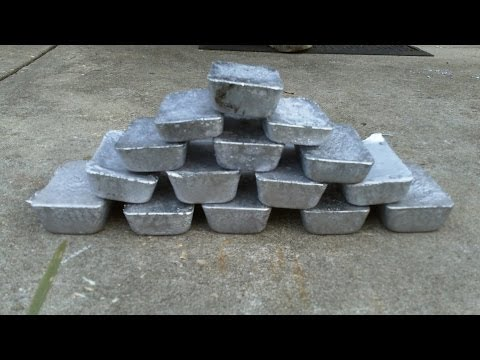 Making Lead Ingots Doovi