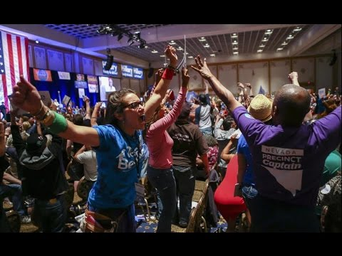 Bernie Sanders' Supporters Vilified & Accused of Violence After Nevada Convention Rigging