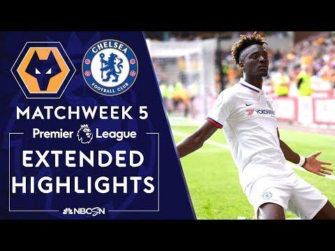 Wolves v. Chelsea | PREMIER LEAGUE HIGHLIGHTS | 9/14/19 | NBC Sports