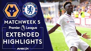 Wolves v. Chelsea | PREMIER LEAGUE HIGHLIGHTS | 9/14/19 | NBC Sports