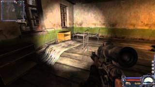 Видео №35 / Прохождение S.T.A.L.K.E.R. : Чистое небо / Кордон. Зачищаем базу военных