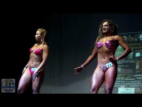 11-Women's Beach Model Class 1, Uruguay Rivera Open de Físicoculturismo NABBA WFF 2017