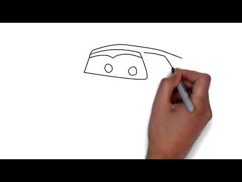 Как нарисовать молнию маквина поэтапно