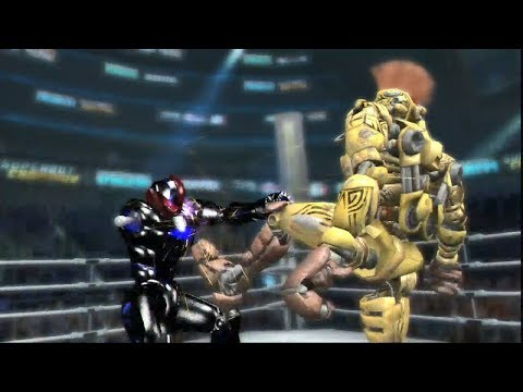 REAL STEEL THE VIDEO GAME [XBOX360/PS3] - MIDAS vs DANGER X - 동영상