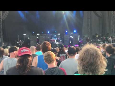 Seether - Fine Again LIVE Rise Above Festival Bangor Maine 22 July 2017 Darlings Waterfront Pavilio