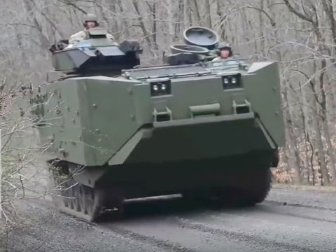 US Marine Corps | Assault Amphibious Vehicle Survivability Upgrade Program | 1080p