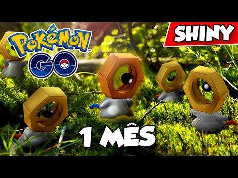 1 MES DE MELTAN SHINY! QUANTOS BRILHARAM? - Pokémon Go | Capturando Shiny (Parte 47) thumbnail