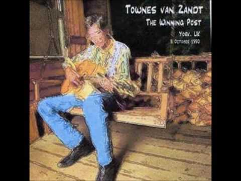 Townes Van Zandt The Winning Post York, England 8 October 1990