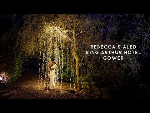 Rebecca and Aled's winter wedding at the King Arthur Hotel in Gower, Swansea South Wales