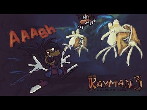 ТОПЛИВО КОШМАРОВ - ОБЗОР Rayman 3 hoodlum havoc
