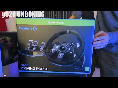 a7ced9db6f3 Logitech G920 Unboxing - YouTube