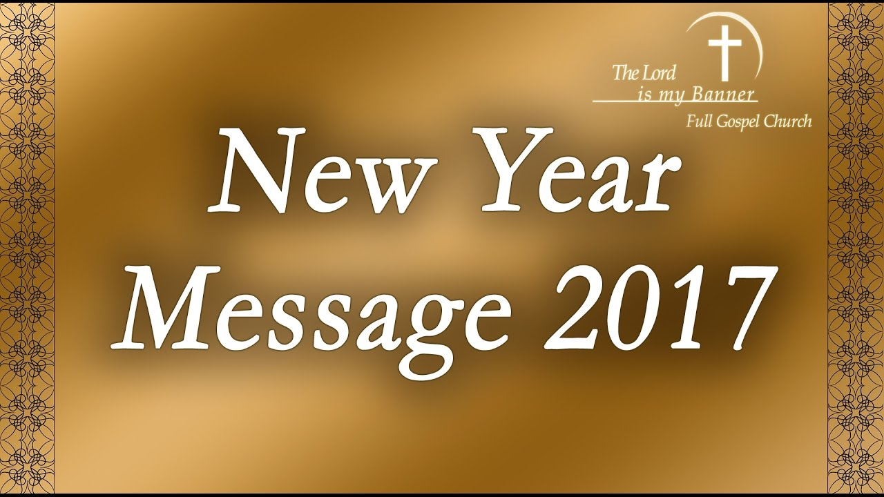 Tamil Christian Message | New Year Message - YouTube