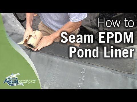 Aquascape's Seaming EPDM Pond Liner How To