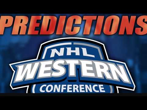NHL 2017-18 Western Conference Predictions