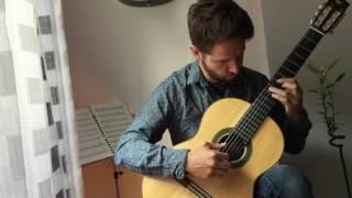 Himno de la Champions League (Classic guitar) by Sergio Martínez Espiga