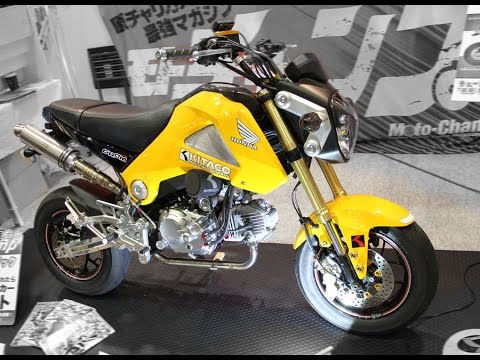 2015 Honda Grom >> HONDA GROM KITACO CUSTOM - YouTube