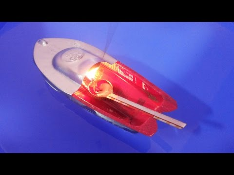 Steam Powered Toy Boat - Pop Pop Water Boat