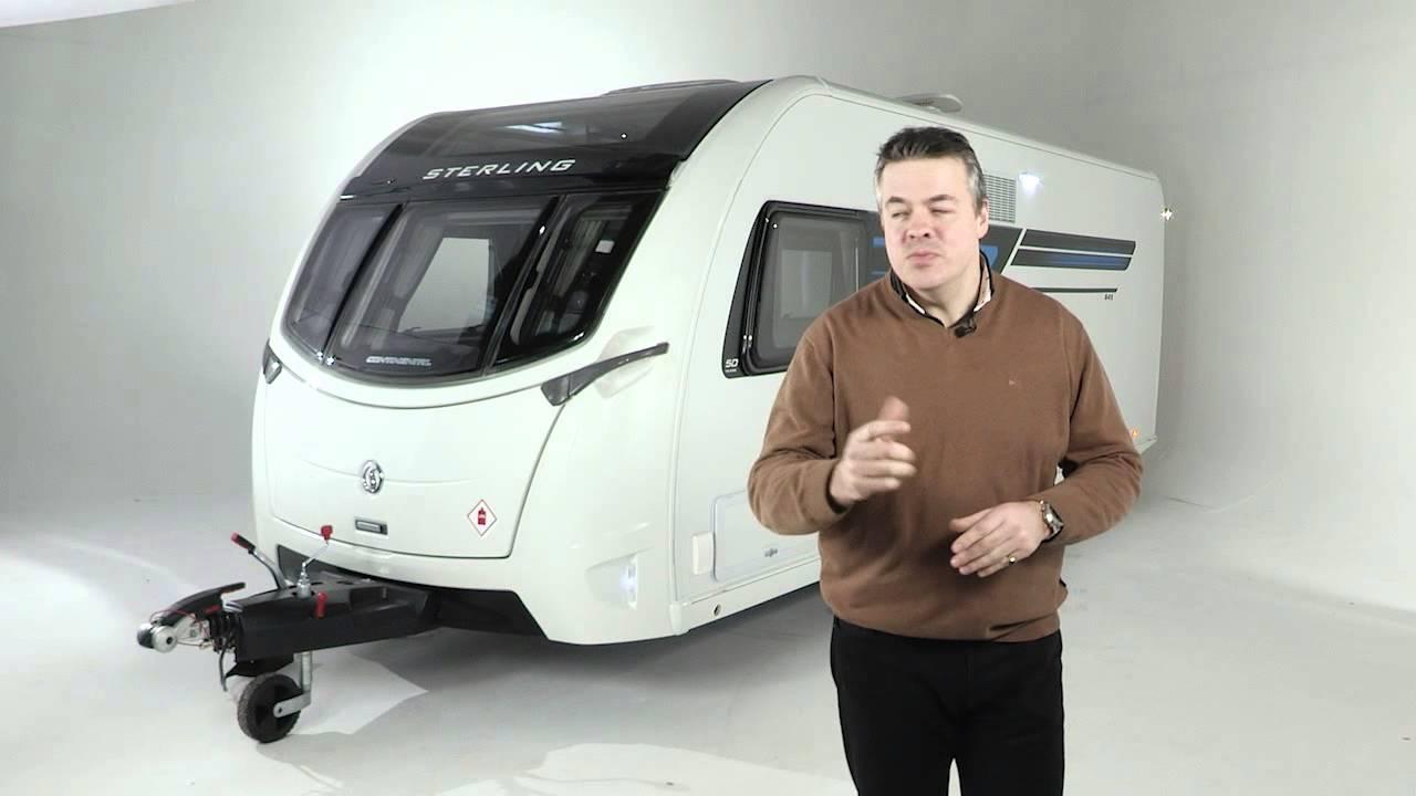 Swift Elegance Sterling Continental Caravan Interior Design Video