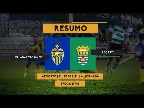 RESUMO - VALADARES GAIA 1-0 LEÇA FC - MINUTO90 TV