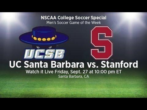 Stanford at UC-Santa Barbara (Men's Soccer)- Friday, September 27 at 7p PST/10p EST