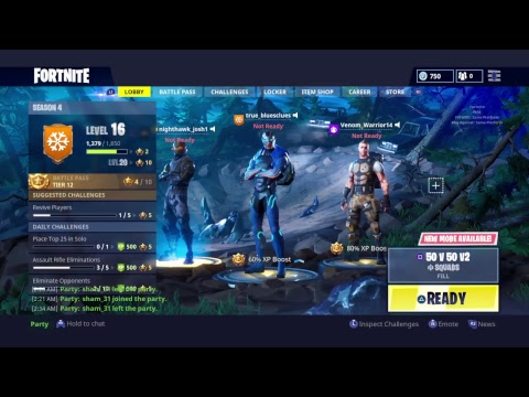 Fortnite: i won't give up