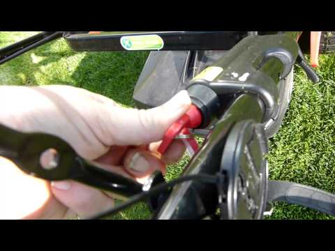 Review of the Qualcast Key Start Self Propelled Petrol Rotary Lawn Mower