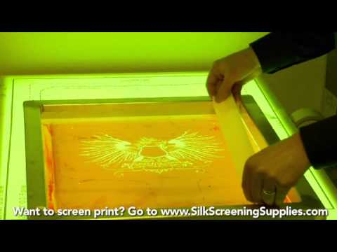 How to Screen Print - Taping your screens - Screen Printing