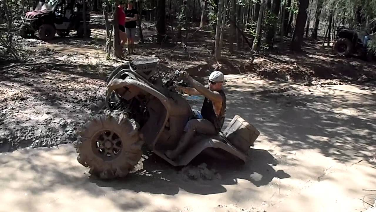 Grizzly 700 Mudding River Run 3 23 12