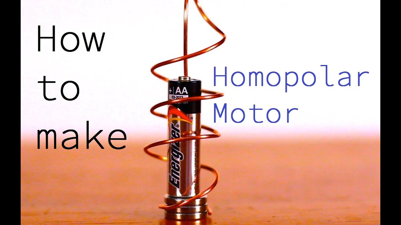 how to build a motor