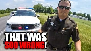 COOL & ANGRY COPS | MOTORCYCLE vs POLICE ENCOUNTERS |  [Episode 172]