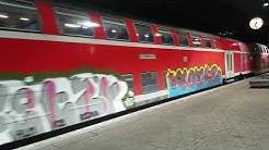 Deutsche Bahn Graffiti Schwarzwald Bahn. Basel Freiburg. Baden Württemberg
