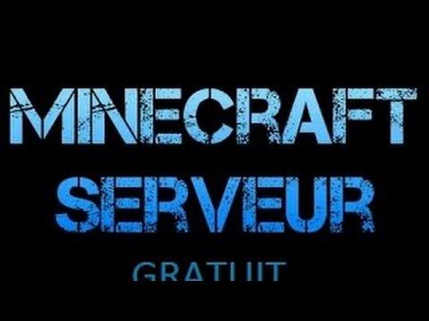 1er TUTO Hébergeur serveur minecraft gratuit à vie