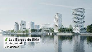 Berges du Rhin à Huningue (68)