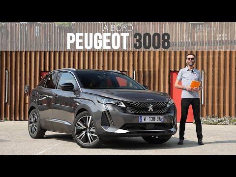 A bord du SUV Peugeot 3008 restylé (2020)