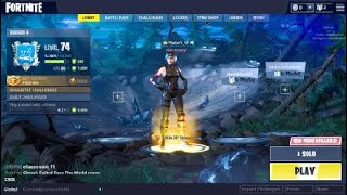 I'm swapping my Fortnite account