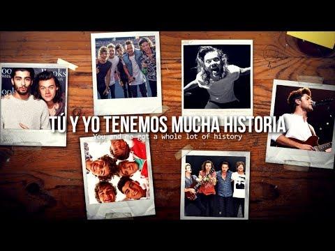 History • One Direction   Letra en español / inglés