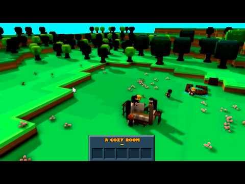 Biffa играет в Stonehearth Pre Alpha. Первый взгляд Sandbox-RTS-RPG игры