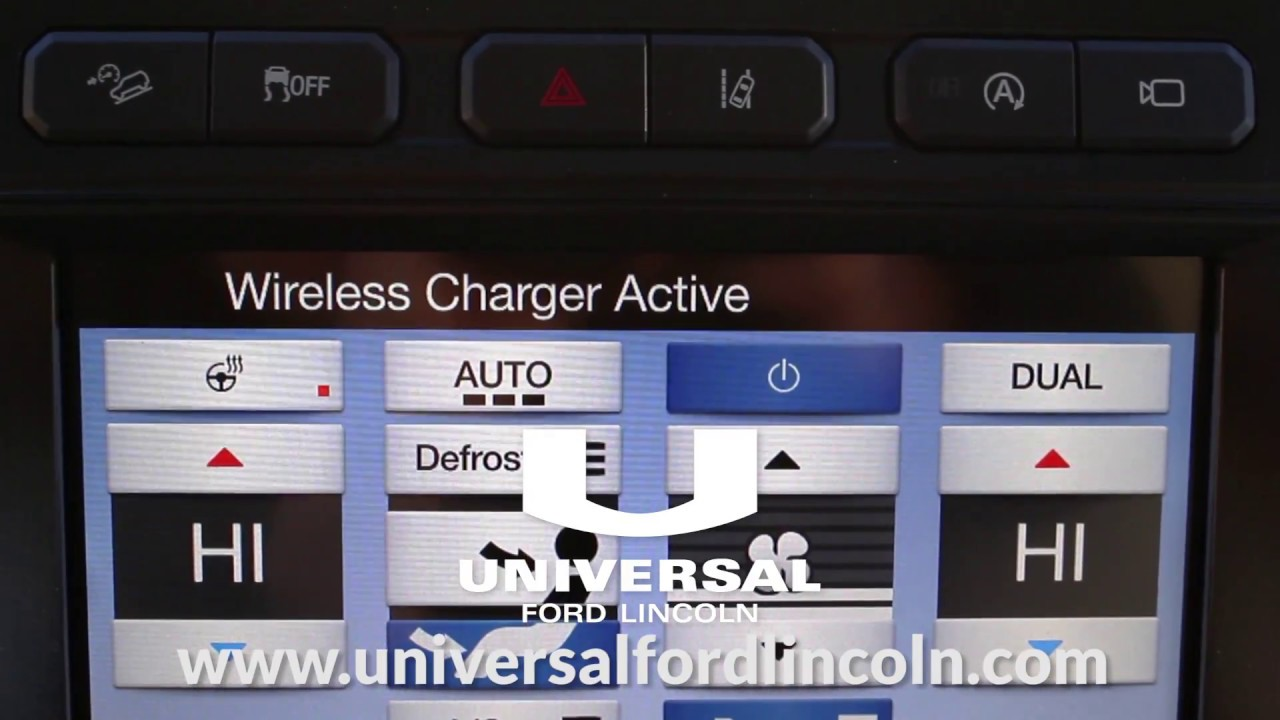 Ford Expedition Wireless Charging Pad