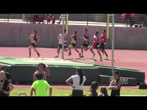 Rafer Johnson @ Kingsburg: Boys 800m: 3/22/2014