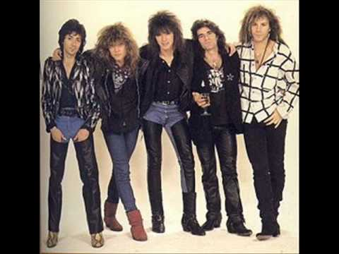 Bon Jovi - Raise Your Hands (80's photos)