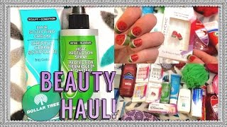Dollar Tree Haul: NEW HAIR PRODUCTS!